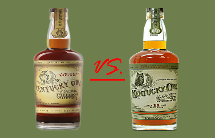 Liquor tasting notes - Kentucky Owl