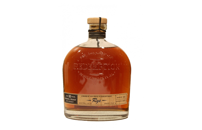 Redemption 10 Year Barrel Proof Rye Whiskey Review