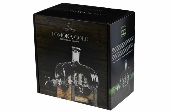 Tomoka Gold Decanter