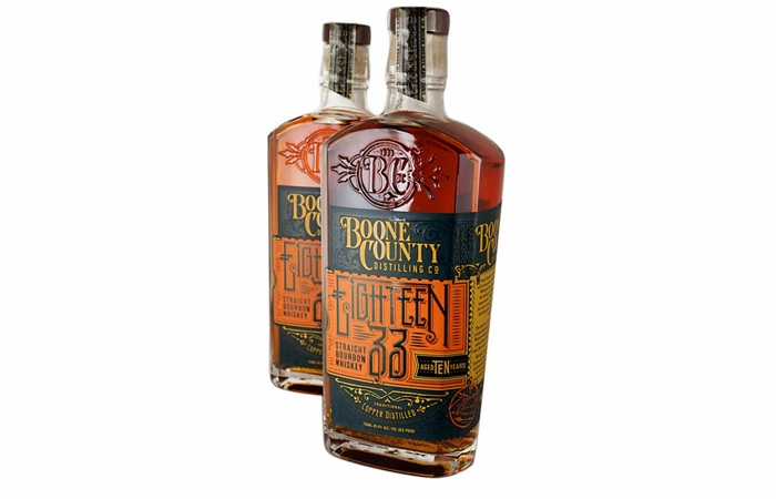 Smoothest Bourbon - Boone County 1833 straight bourbon.