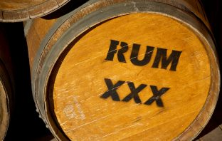 barrel of aged rum